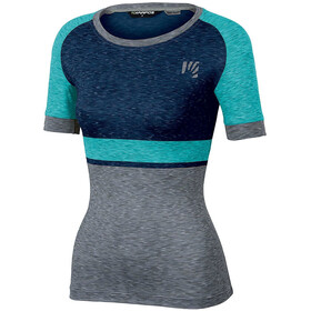 Karpos Verve T-shirt Dames, insignia blue/bluebird